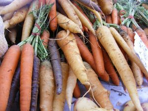 rainbow carrots - Raw Juicing and Detox
