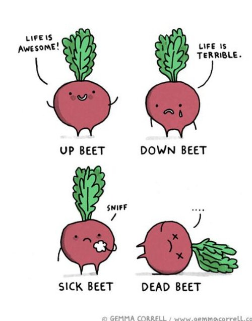 Beet Puns - Raw Juicing and Detox