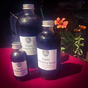 Product picture of Elderberry Syrup- 2o z, 8 oz, and 16 oz