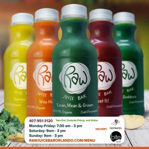 Product Image of Raw Juice Bar organic cold-pressed juices